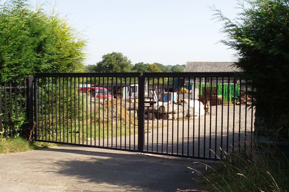 Metal Yard Gates