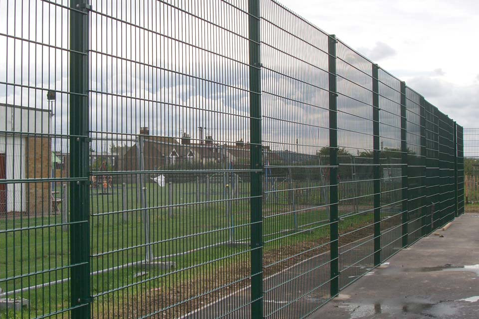Strong no nonsense perimeter security fencing r james